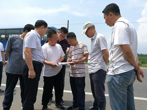 黑龙江测绘地理信息局开展1:50000地形数据更新项目外业督查