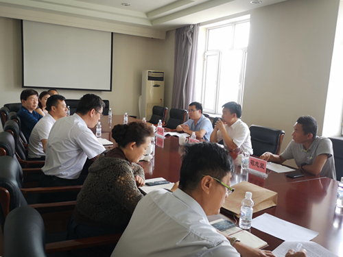自然资源部离退休干部局到黑龙江测绘地理信息局调研离退休工作