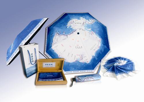 《俯瞰南极》地图文创产品面世