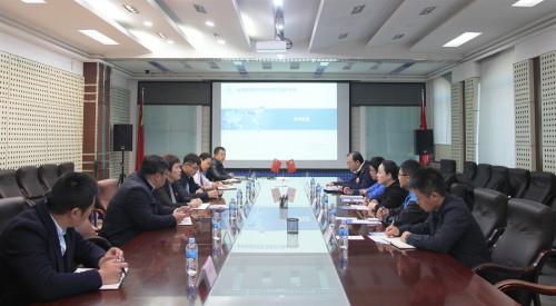 自然資源部第四航測遙感院到黑龍江地信工程院調研交流